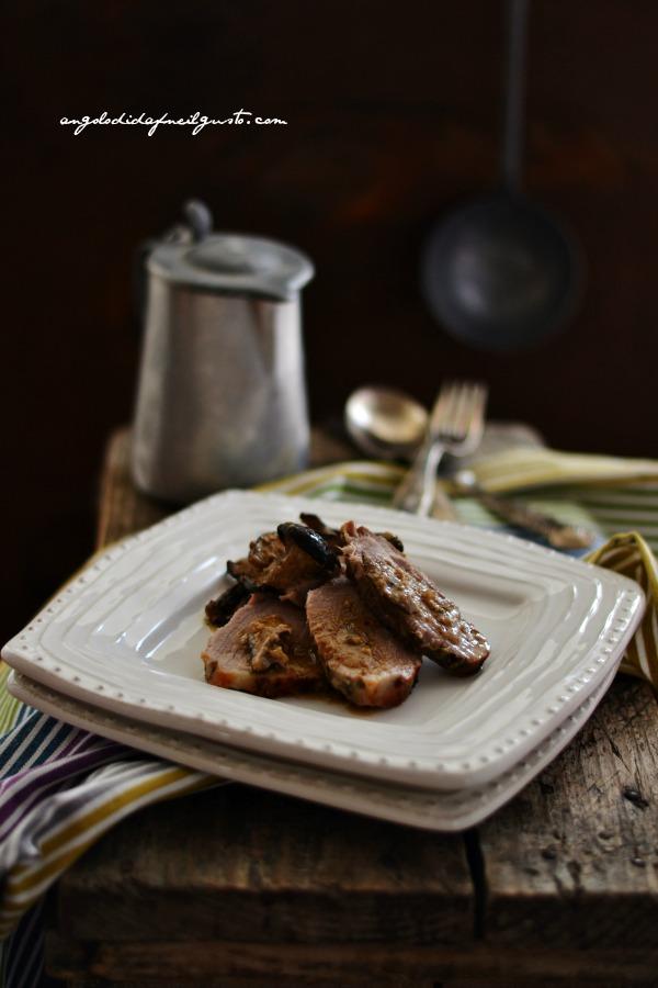 Arrosto di maiale con funghi cardoncelli 33