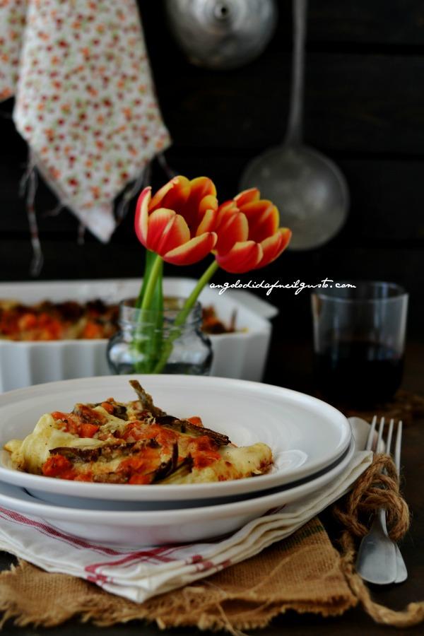 Cannelloni con ricotta, zucca e carciofi (2)