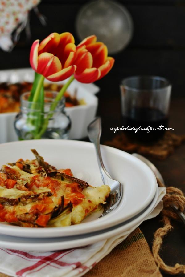 Cannelloni con ricotta, zucca e carciofi (3)