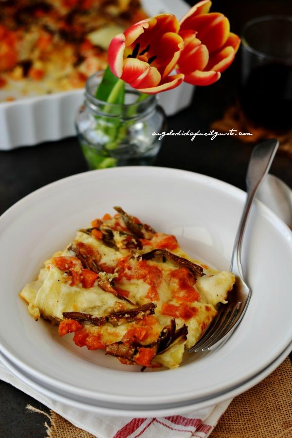 Cannelloni con ricotta, zucca e carciofi (4)