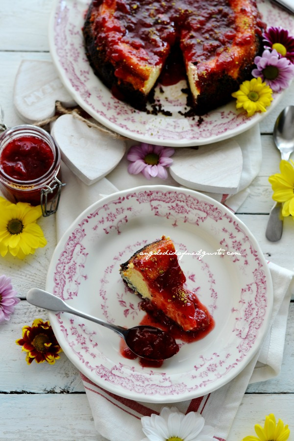Cheesecake, fragole 0120