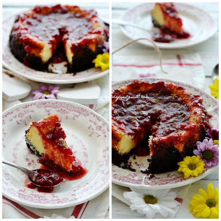 Cheesecake, fragole (2)