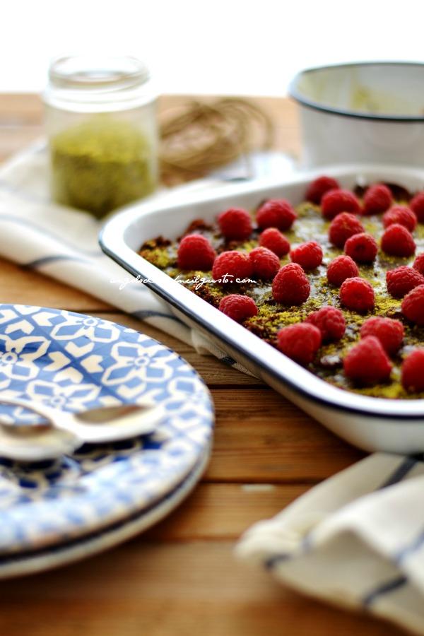 Torta al cioccolato e lamponi (2)
