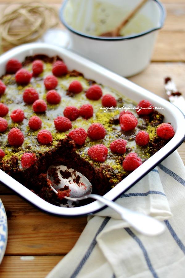 Torta al cioccolato e lamponi (6)