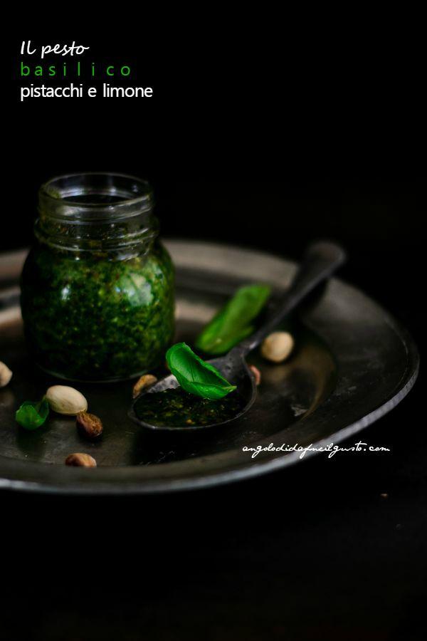 Pesto di basilico, pistacchi e limone (21)