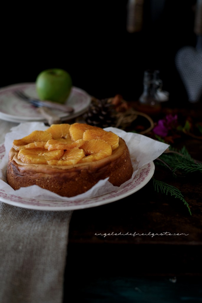 Orange and cinnamon cheesecake1510