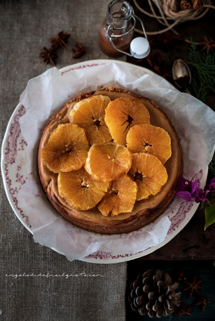 Orange and cinnamon cheesecake1520