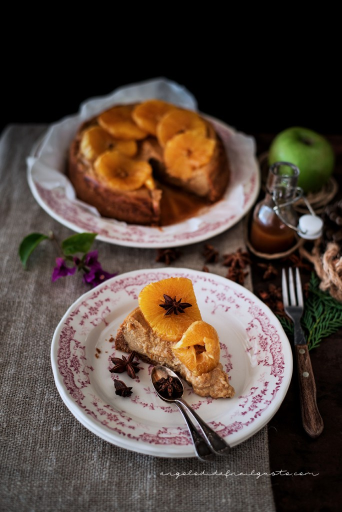 Orange and cinnamon cheesecake1527