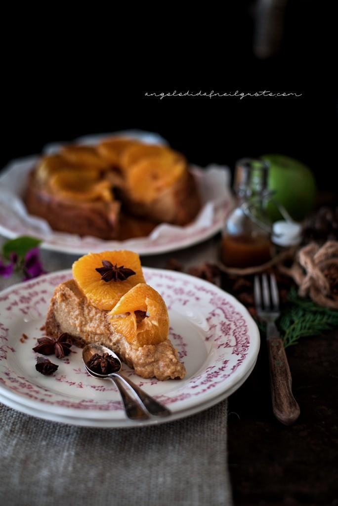 Orange and cinnamon cheesecake1529