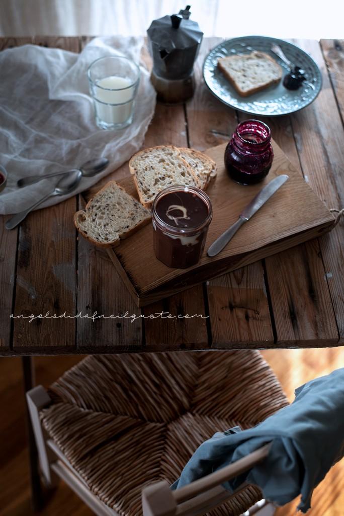 Crema spalmabile al cioccolato e marshmallow 2165