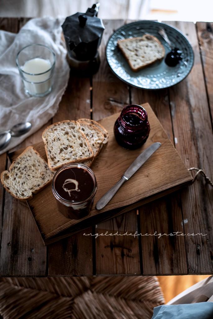 Crema spalmabile al cioccolato e marshmallow 2166