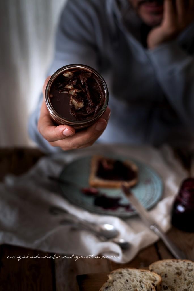 Crema spalmabile al cioccolato e marshmallow 2196