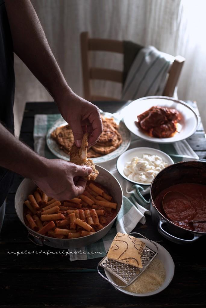 Pasta al forno con melanzane 2602