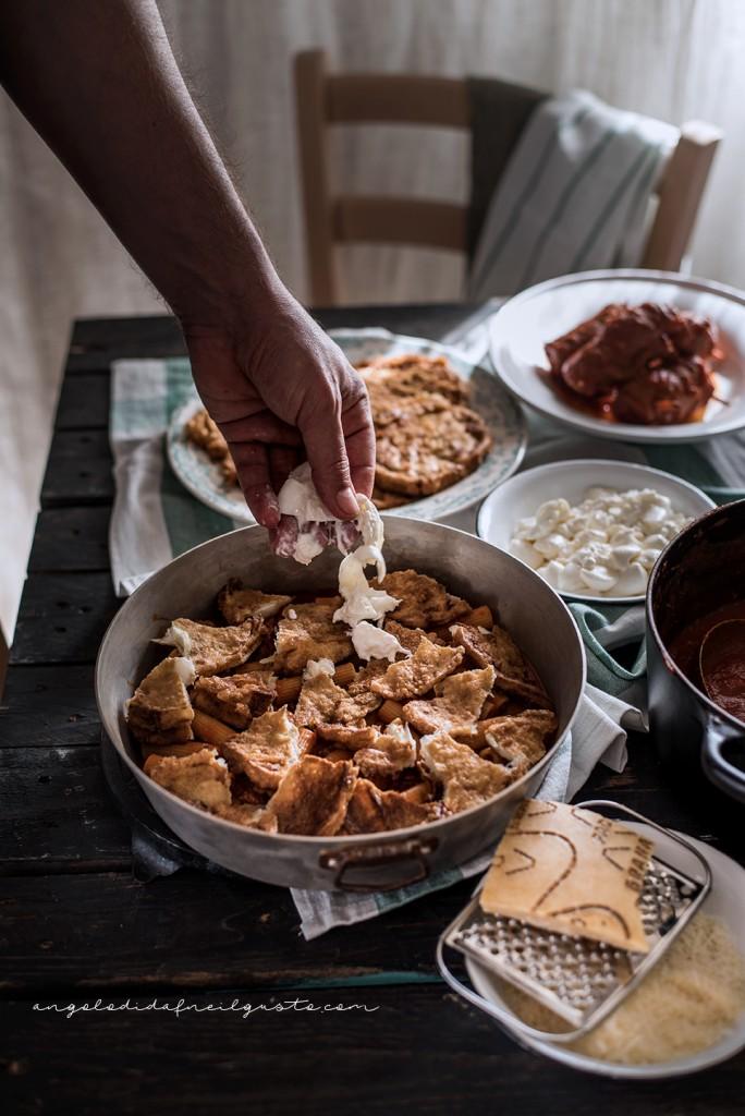 Pasta al forno con melanzane 2608