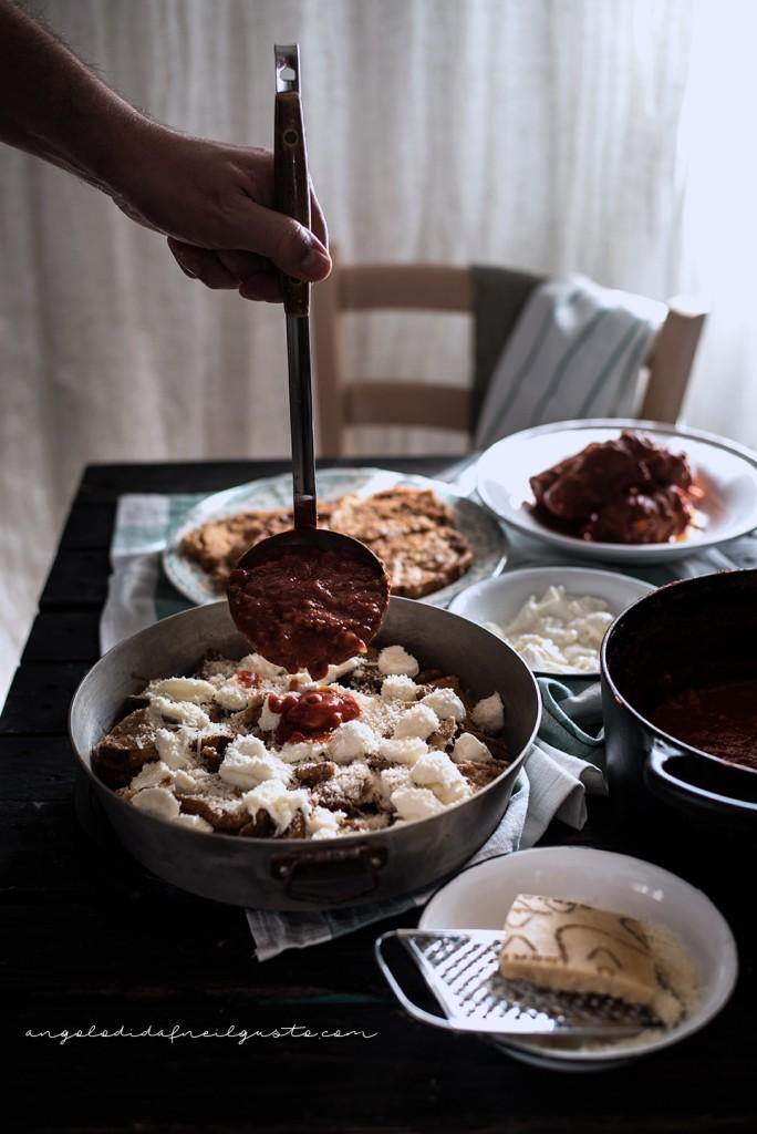 Pasta al forno con melanzane 2618