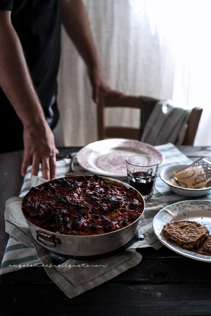 Pasta al forno con melanzane 2627