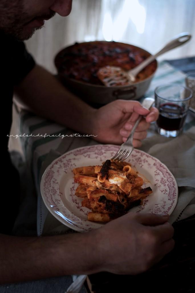 Pasta al forno con melanzane 2643
