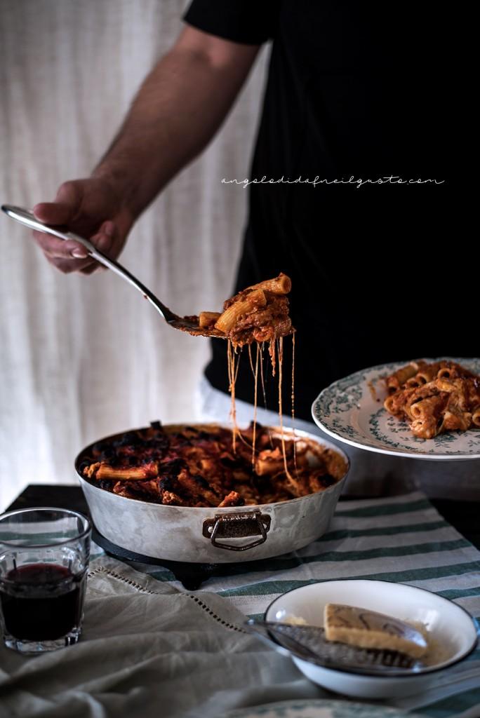 Pasta al forno con melanzane 2648