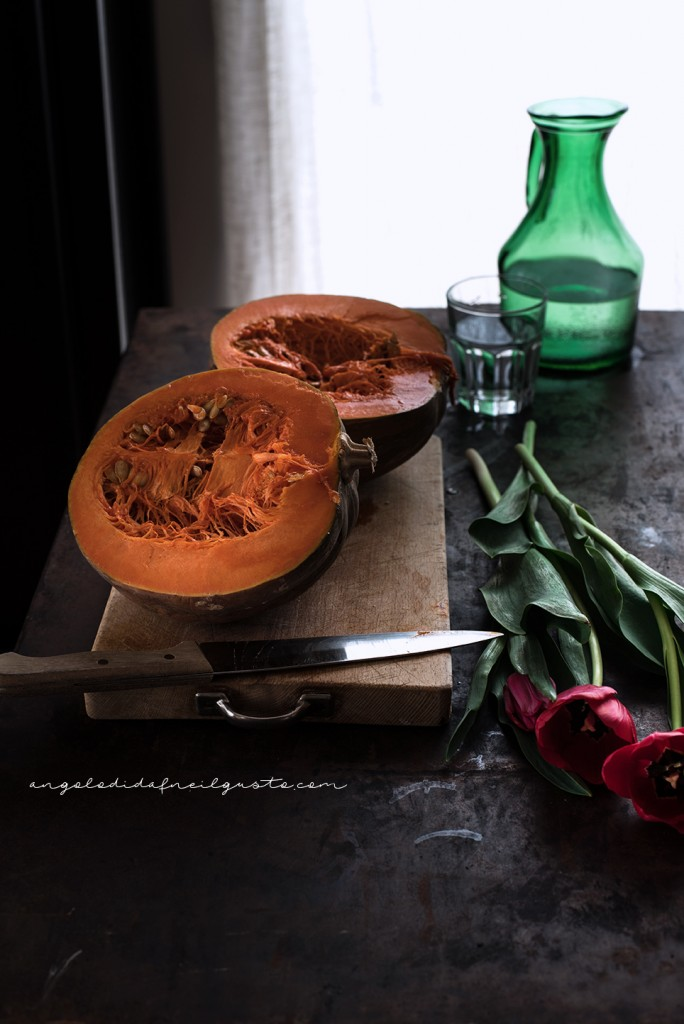 Spaghettoni alla crema di zucca e robiola_3322