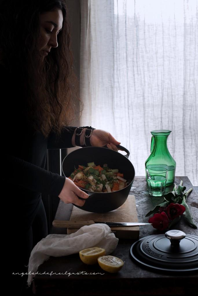 Spaghettoni alla crema di zucca e robiola_3346