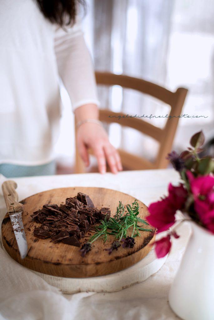 Bundt cake al cioccolato, mandorle e ricotta 4718