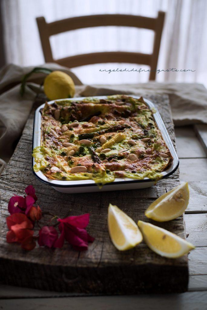 Lasagne agli asparagi e piselli 5032