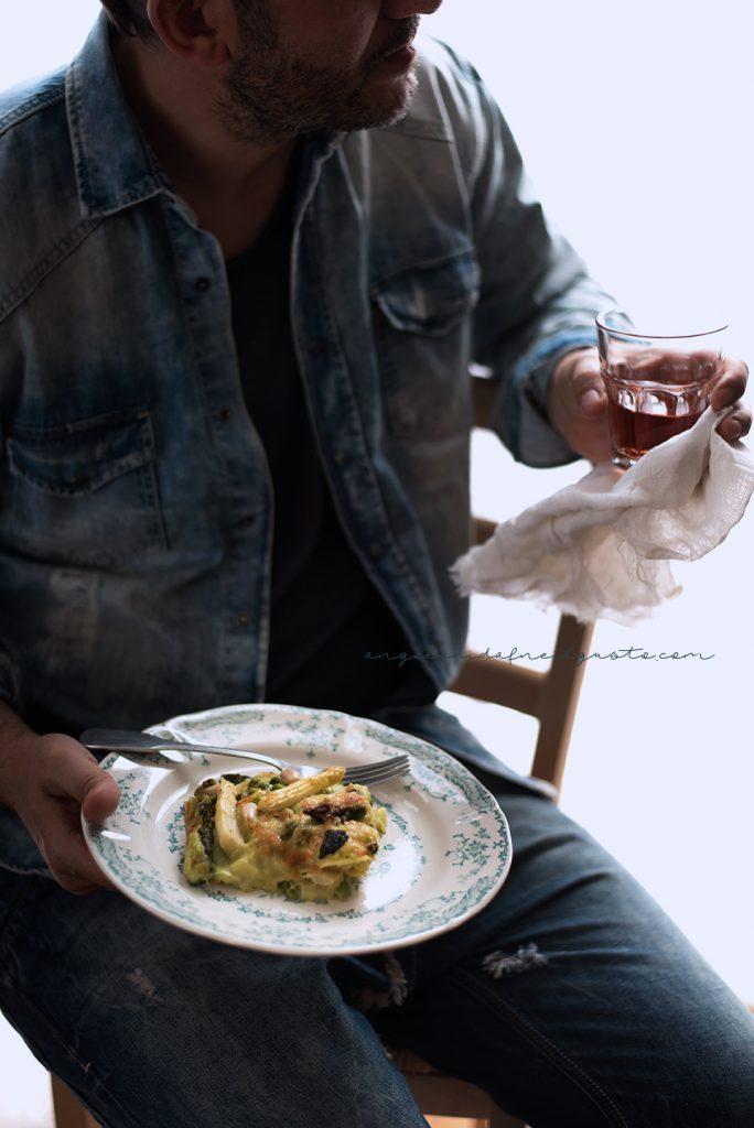 Lasagne agli asparagi e piselli 5046