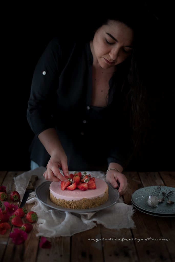 Finta cheesecake alle fragole176