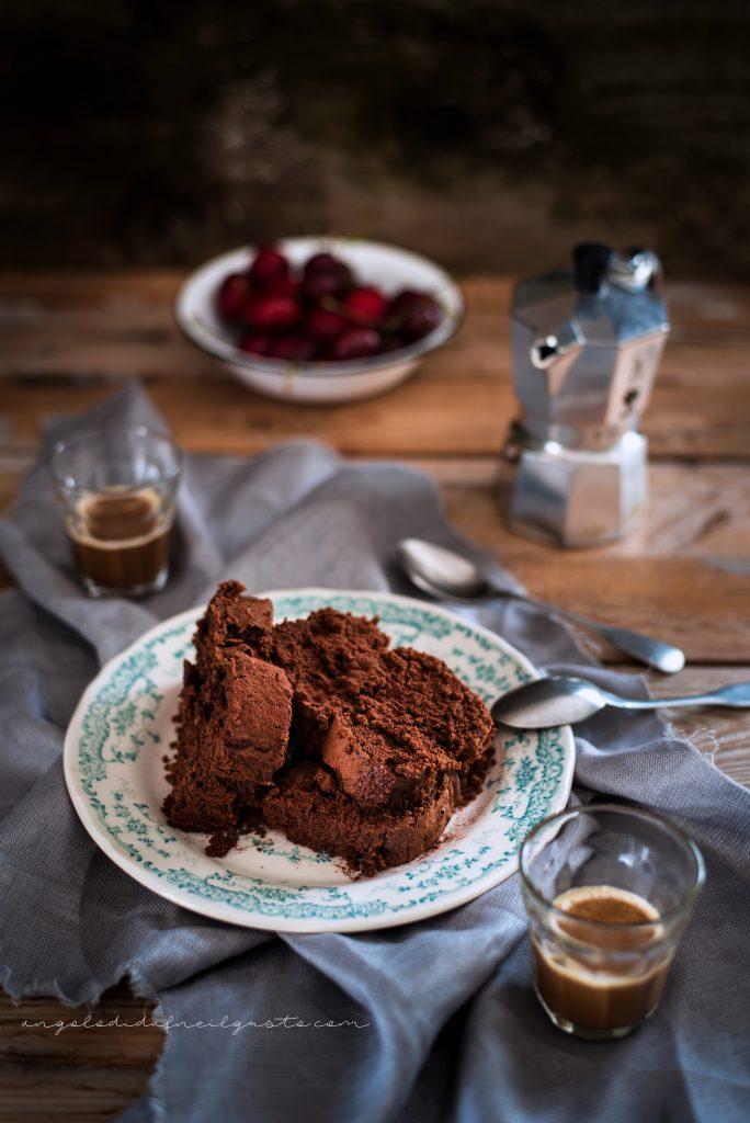 Cake al cioccolato, avena e noci 962
