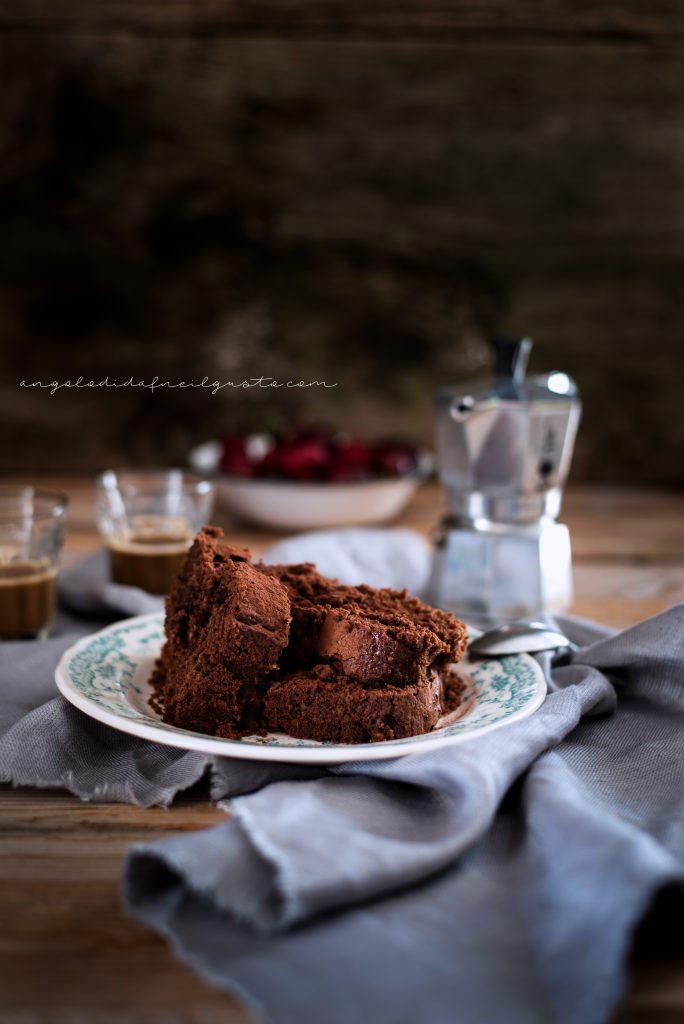 Cake al cioccolato, avena e noci 964