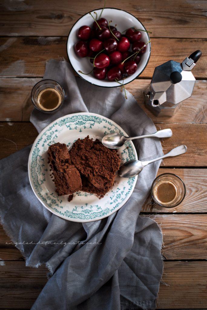 Cake al cioccolato, avena e noci 965