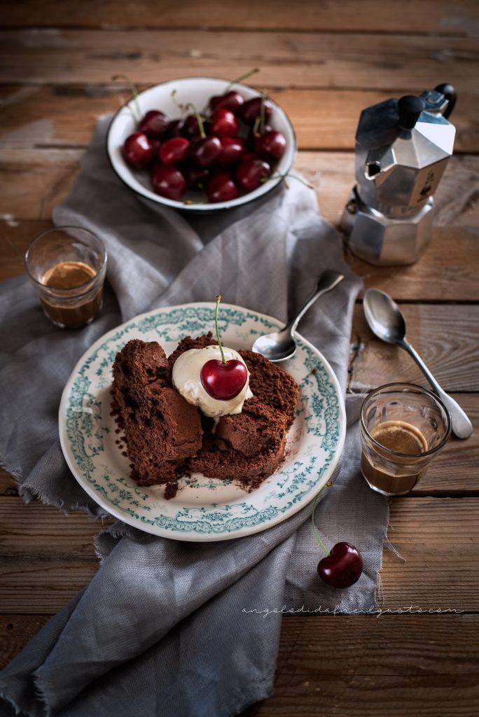 Cake al cioccolato, avena e noci 974