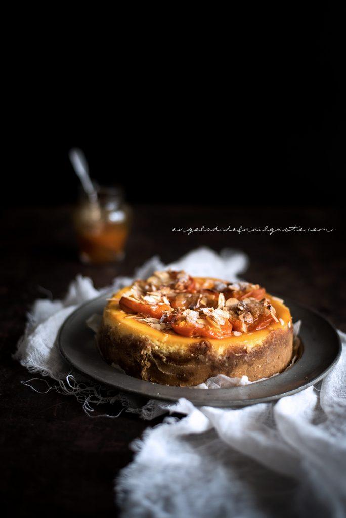 Cheesecake alle albicocche e mandorle 894