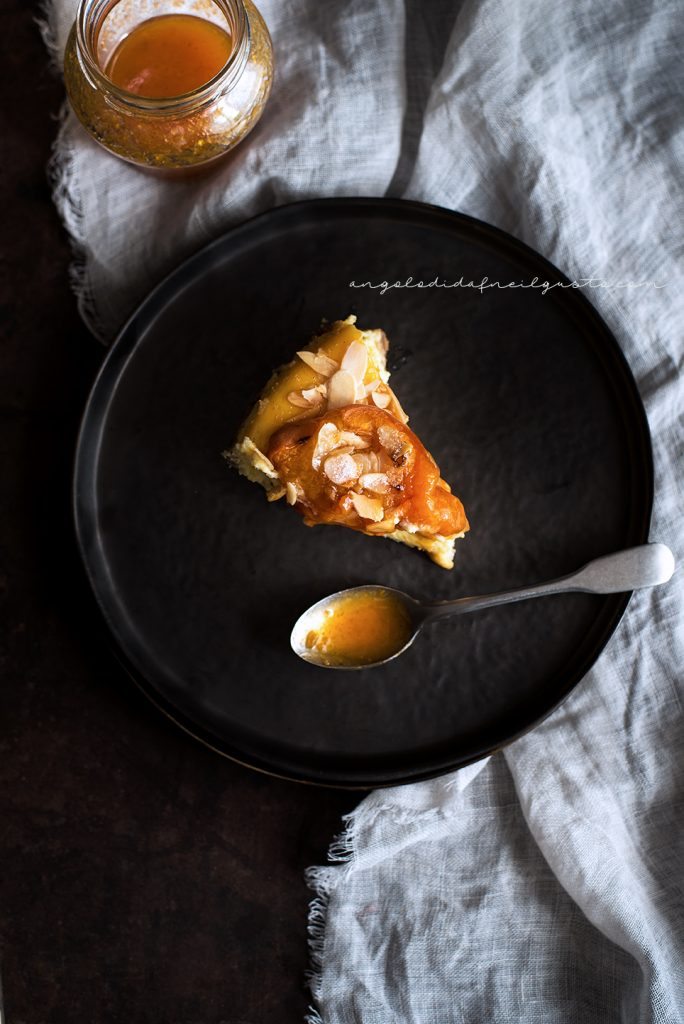 Cheesecake alle albicocche e mandorle 901