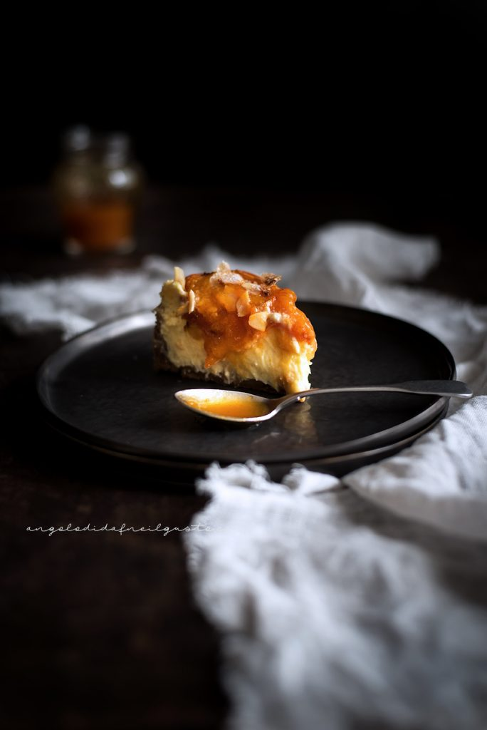 Cheesecake alle albicocche e mandorle 902