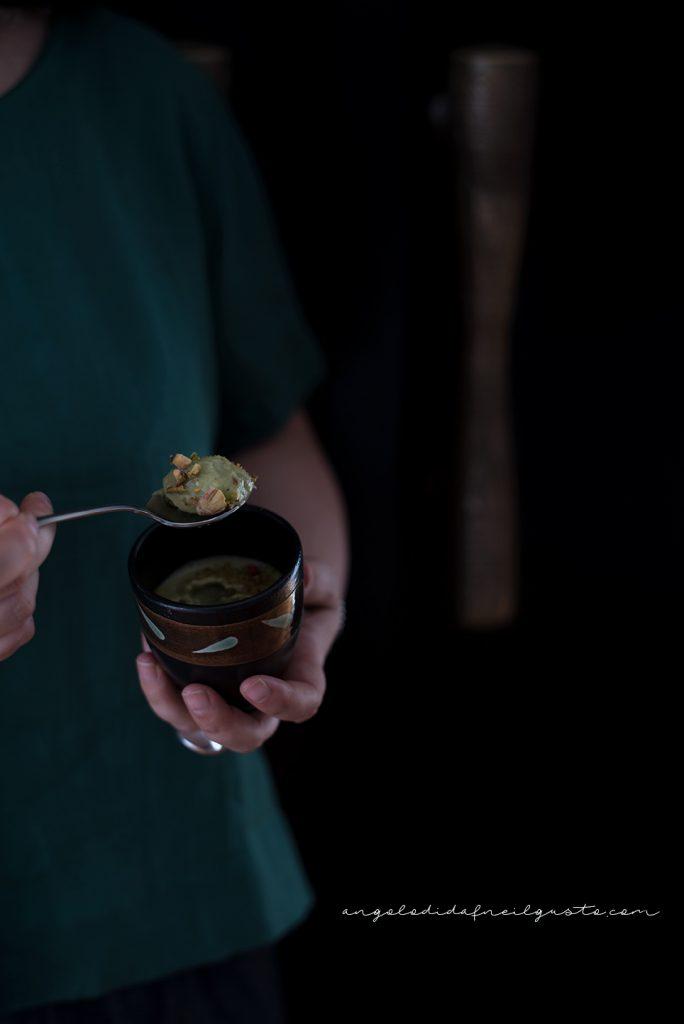 Mousse al mascarpone, te matcha e pistacchi 146