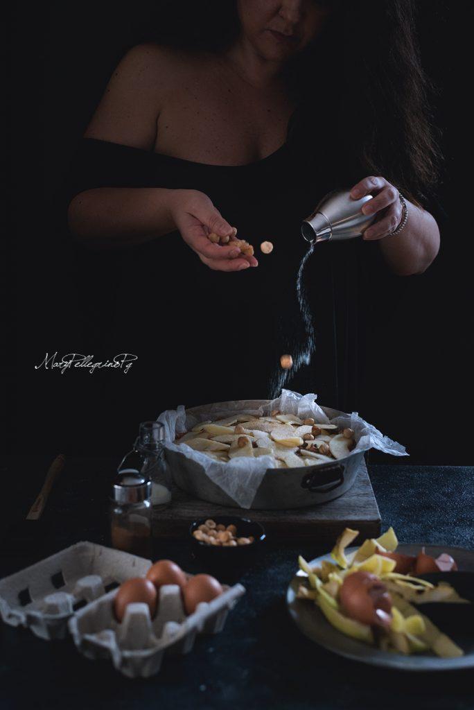 torta-di-mele-al-farro-nocciole-e-composta-di-mele-cotogne-1