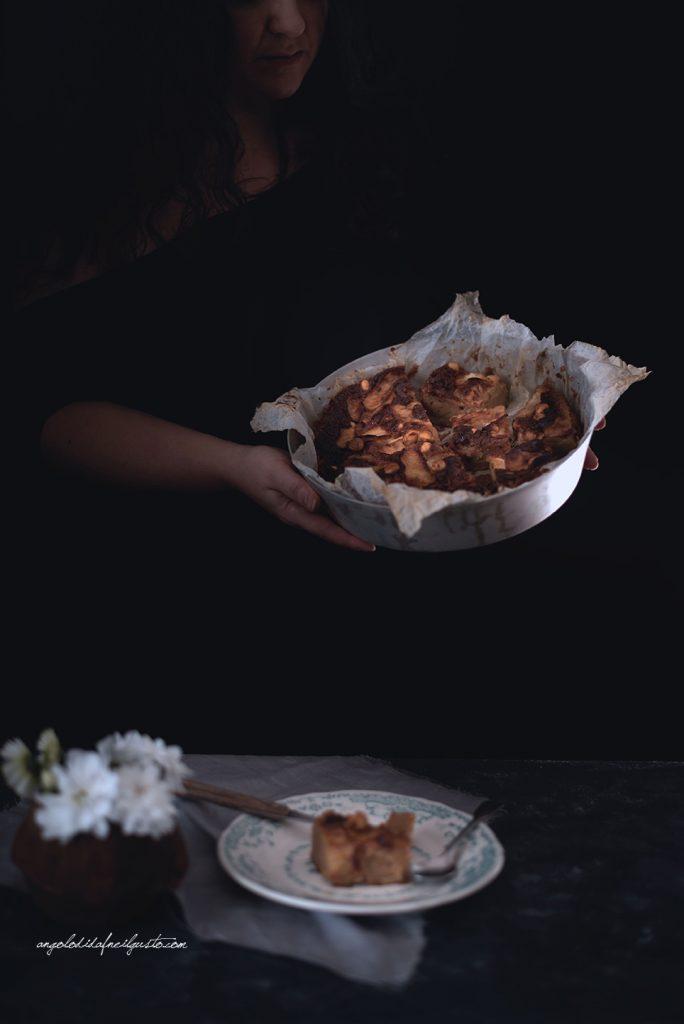 torta-di-mele-al-farro-nocciole-e-composta-di-mele-cotogne-11