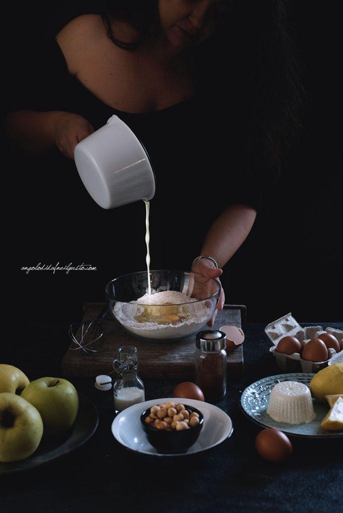 torta-di-mele-al-farro-nocciole-e-composta-di-mele-cotogne-5