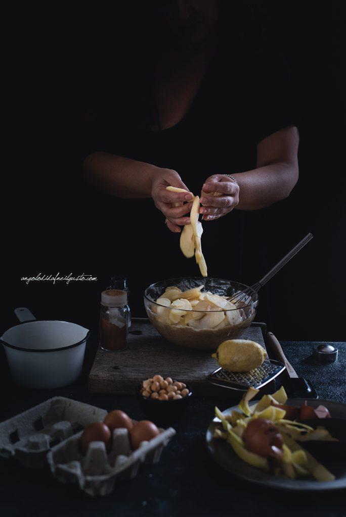 torta-di-mele-al-farro-nocciole-e-composta-di-mele-cotogne-7